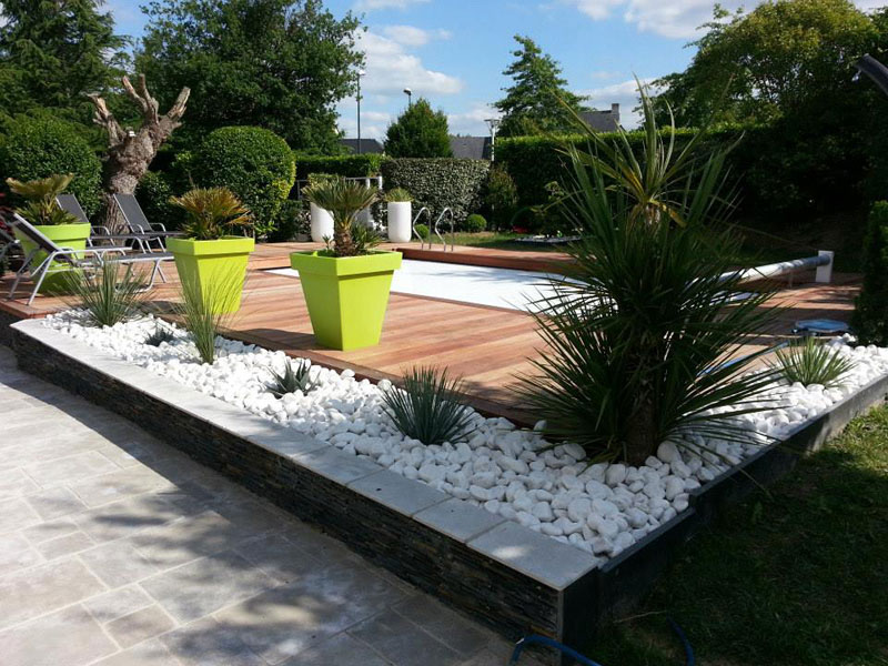 Amenagement Terrasse Et Jardin Photo - Maison Design - Caneleta.com